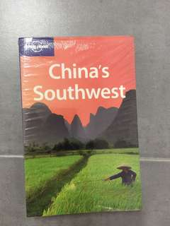 Travel book Lonely Planet China Southwest