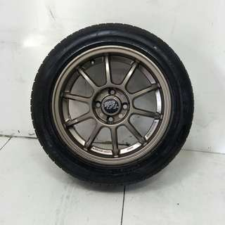 15 '' Sports Rim With Tyres 4x100 (SR1084)