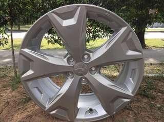 17in PCD 5-100 Original Subaru Rims On Offer Sale