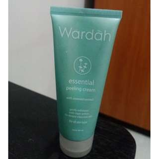 wardah essential peeling cream 60ml #BIL2018