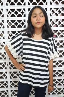 Baju stripes bigsize