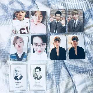 [INTEREST CHECK] EXO BAEKHYUN AND CHANYEOL OFFICIAL PHOTOCARD