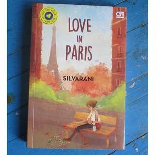 Novel Indonesia : Love in Paris by Silvarani