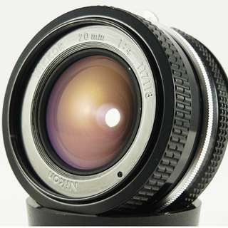 **日光銀鹽** Nikon Nikkor AI 20mm F4.0 輕量化定焦廣角鏡