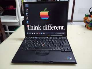ThinkPad 12.5inch/windows7/icore2