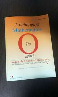 Challenging Mathematics for O Level