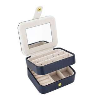 Sailor blue travel mini Jewellery Box