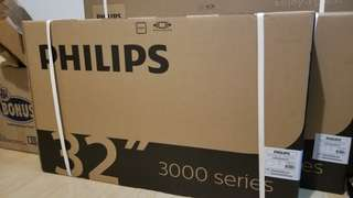 Brand new 32 inches Philips TV