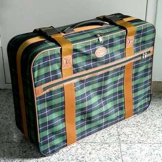 """Vintage 26"""" Wide Luggage / Storage Bag"""