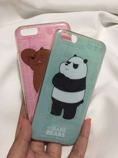 We bare bear case miniso iphone 6/6s