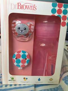 Dr. Browns Pacifier and Bottle