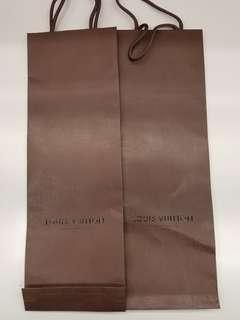 LV 領帶紙袋