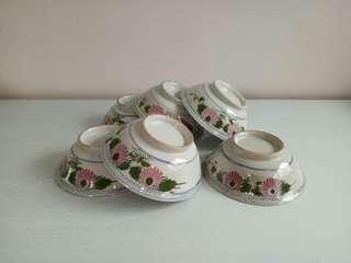 BN Porcelain Bowl height 6cm diameter 17cm 6pcs $48