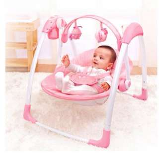 Primi Baby Electric Rocking Chair Cradle Baby Chair Portable Swing