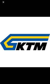 Ktm ticket sg-JB 12/5/18 10:50am 1 ticket