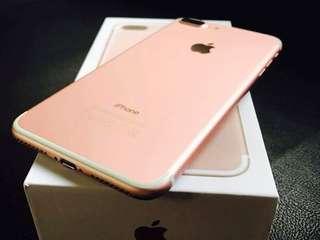 iPhone 7 plus 256gb Rosegold