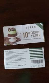 POLAR  Discount Voucher