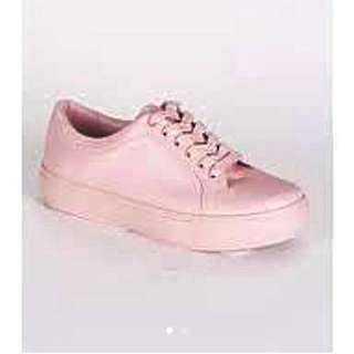 HARLOW baby pink sneaker