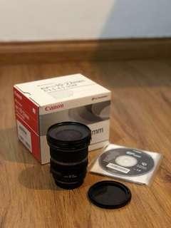 Canon EFS 10-22mm UltraWide lens