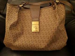 Fendi Monogram Handbag Tote bag