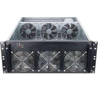 4U Server Case with 6 fan for 6GPU ( Mining rig)