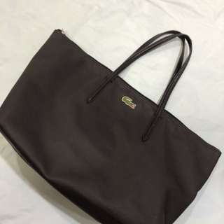 Pre loved Lacoste Tote Bag