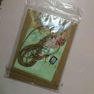 Wooden Clips with Rope and Photo Frame
