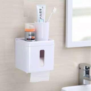 Multifunctional Toilet Paper Roll Holder