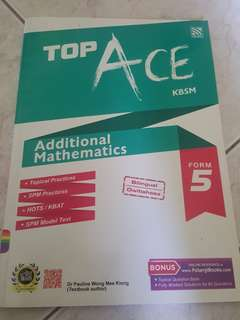 TopAce Additional Mathematics Form 5