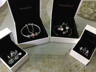 PANDORA SETS, CHARMS & SAFETY CHAIN