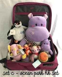 Ocean Park HK Stuffed Toys
