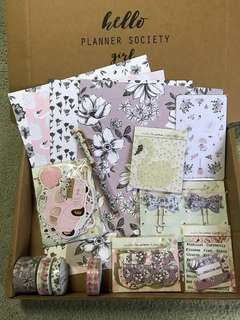The Planner Society & Washi Kit (Partial) - March 2018