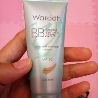 Preloved wardah BB everyday beauty blam cream