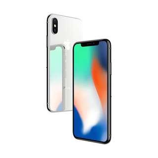 Apple iPhone X 256GB - Silver New Cash kredit Tanpa CC