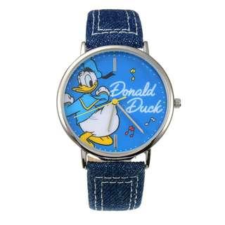 日本 Disney Store 直送 Donald Duck Birthday 2018 系列唐老鴨紀念版腕錶 / 手錶