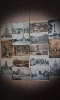 Old Paris post cards $7ea