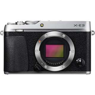 Fujifilm X-E3 Mirrorless Digital Camera with 18-55mm (Silver&Black)