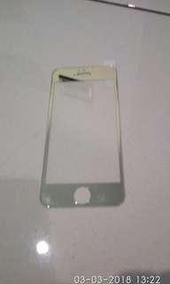 Anti gores iphone5 warna gold