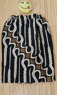 Batik skirt nice