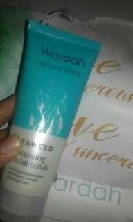 facial scrub seaweed