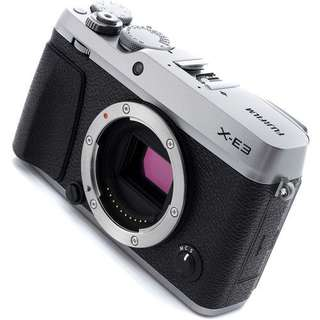 Fujifilm X-E3 Mirrorless Digital Camera Body Only (Silver&Black)