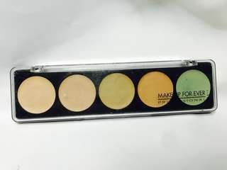Makeup For Ever 5 camouflage cream palette