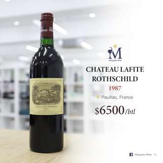 Lafite Rothschild 1987