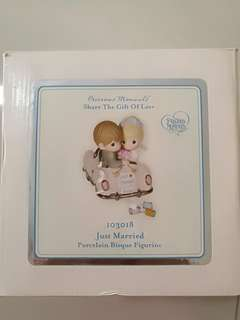 "Brand New Precious Moments ""Just Married"" figurine"