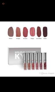 6 pc kylie holiday