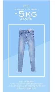 🚚 chuu -5kg jeans vol.72 牛仔褲
