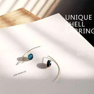 Unique Shell Earrings