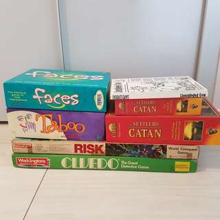 Board games up for grab