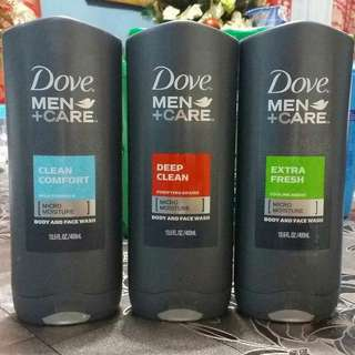 Dove Men + Care Body and Face Wash 400ml