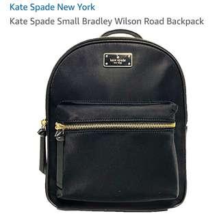 Brand new kate spade new york wilson road small bradley backpack black